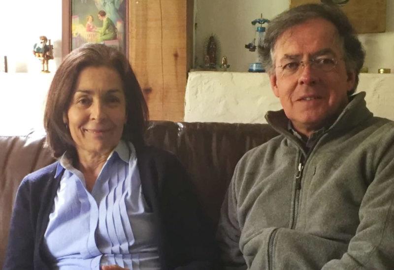 Elsa Zambrano y Diego Mazuera