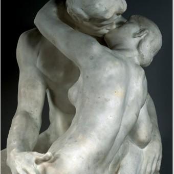 """El beso"", Auguste Rodin"