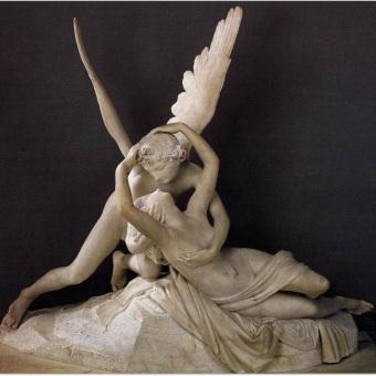 """""""Cupido y Psique"""", Antonio Canova"""