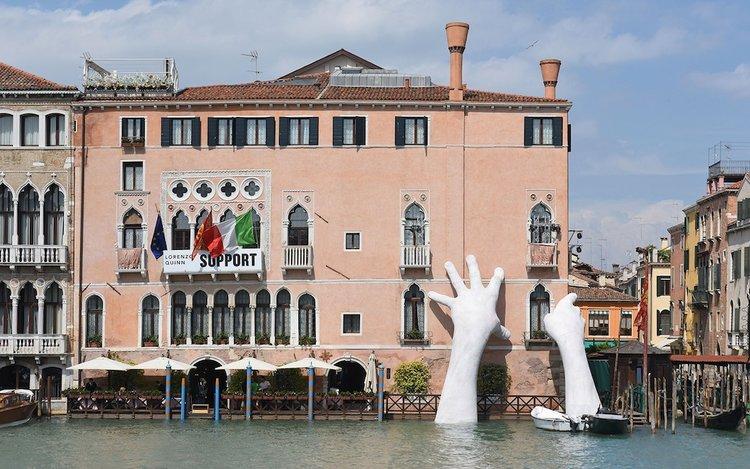 Resultado de imagen para 57ª edición de la Exposición Internacional de Arte de Venecia