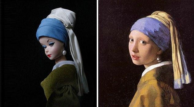 LA JOVEN DE LA PERLA-Johannes Vermeer