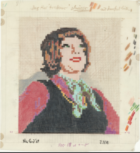 Study for Ina. 1969